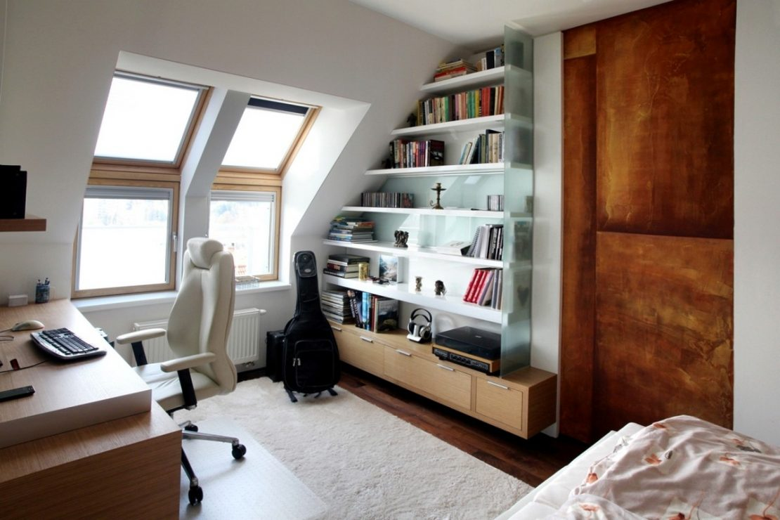 small home office in apartment neopolis